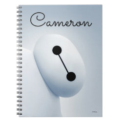 Baymax Selfie Photo Notebook (6.5