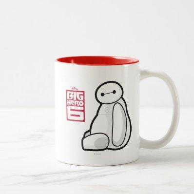Baymax Sideways Sitting Mug