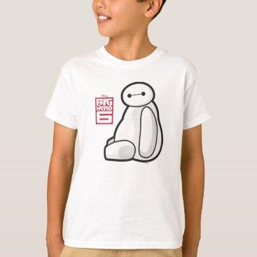 Disney Themed Baymax Sideways Sitting T-Shirt