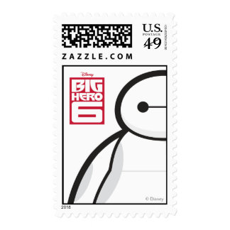 Baymax Standing Postage Stamps