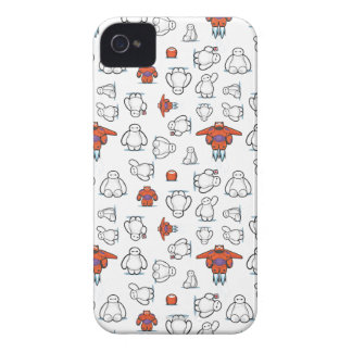 Baymax Suit Pattern iPhone 4 Case