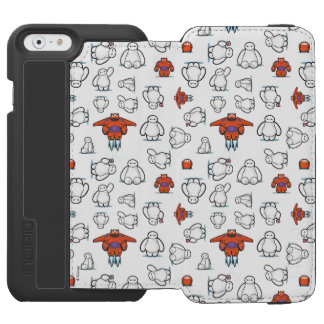 Baymax Suit Pattern iPhone 6/6s Wallet Case