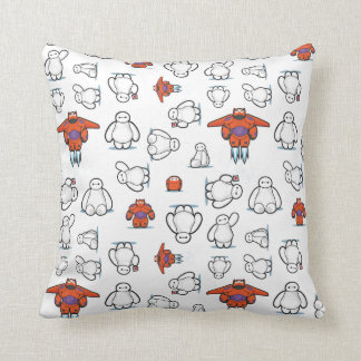Baymax Suit Pattern Throw Pillows