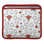 Baymax Suit Pattern Sleeve For iPads