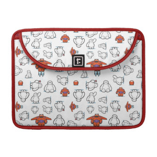 Baymax Suit Pattern Sleeve For MacBooks