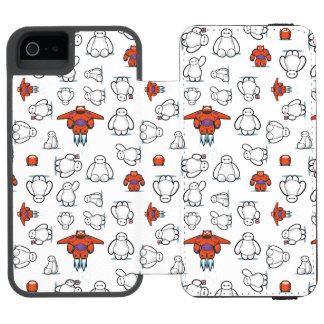 Baymax Suit Pattern Wallet Case For iPhone SE/5/5s