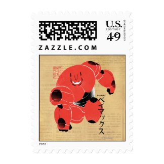 Baymax Supersuit Timbres Postales