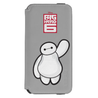 Baymax Waving iPhone 6/6s Wallet Case