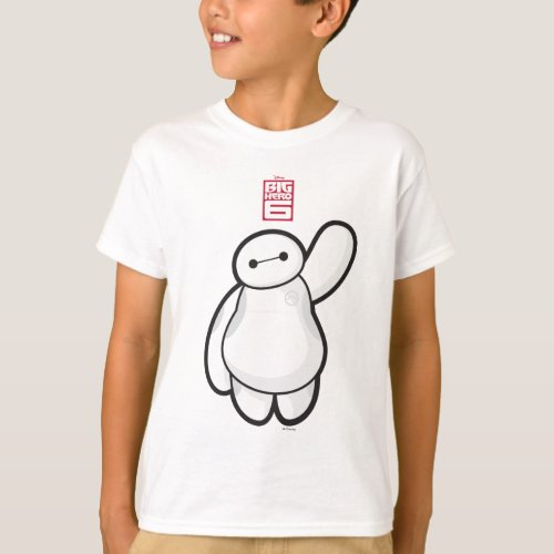 Baymax Waving T_Shirt
