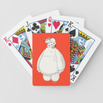 Baymax with Mochi on his Head Bicycle Playing Cards