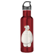 Baymax with Mochi on his Head Stainless Steel Water Bottle
