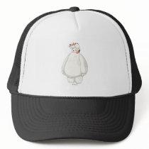 Baymax with Mochi on his Head Trucker Hat