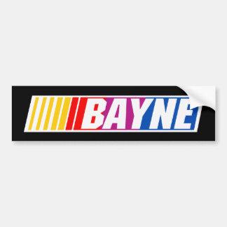 Bayne2 Car Bumper Sticker