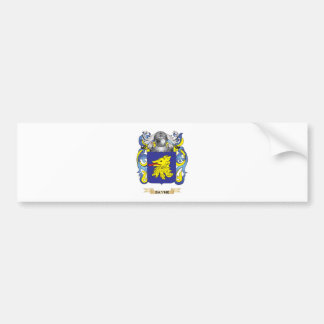 Bayne Coat of Arms (Family Crest) Car Bumper Sticker