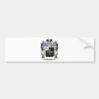 Baynes Coat of Arms - Family Crest Car Bumper Sticker