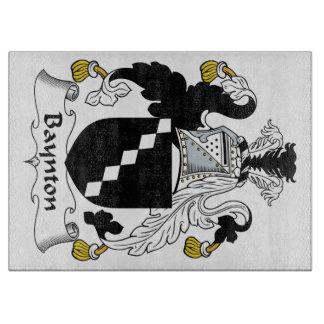 Baynton Family Crest Cutting Board