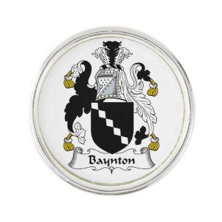 Baynton Family Crest