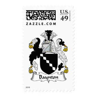Baynton Family Crest Stamps