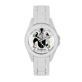 Baynton Family Crest Watch