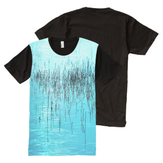 Bayocean Blues by Aleta All-Over-Print T-Shirt