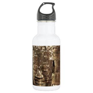Bayon face Angkor Thom Cambodia Water Bottle
