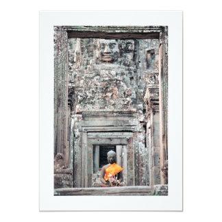 Bayon Temple, Angkor Thom, Cambodia Card