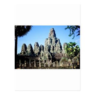 Bayon Temple in Angkor, Cambodia Postcard