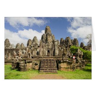 Bayon Temple Ruins in Cambodia Card