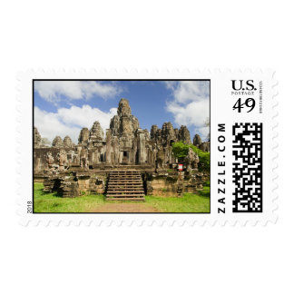 Bayon Temple Ruins in Cambodia Stamps