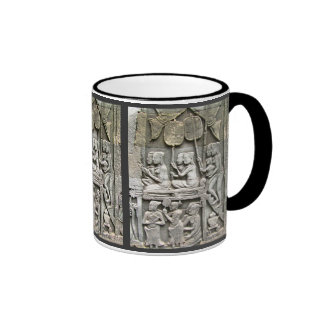 Bayon Temple Wall Relief - Honoring the King Coffee Mugs