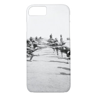 Bayonet practice. Camp Bowie_War Image iPhone 7 Case