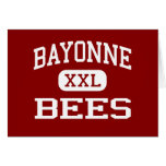 Bayonne - Bees - High School - Bayonne New Jersey Greeting Card