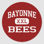 Bayonne - Bees - High School - Bayonne New Jersey Stickers