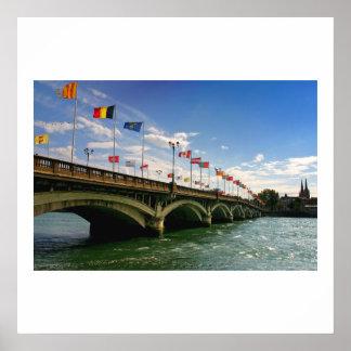 bayonne le pont saint esprit poster
