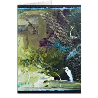 Bayou Bliss II Abstract Card