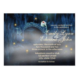 Bayou Bliss Redhead Wedding Invitation