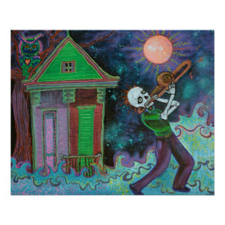 Bayou Blues Poster