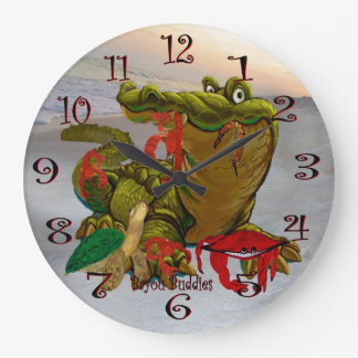 Bayou Buddies wall clock
