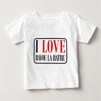 Bayou la Batre, Alabama City Design Baby T-Shirt