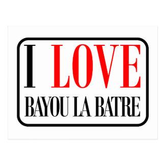 Bayou la Batre, Alabama City Design Postcard