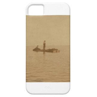 Bayou La Batre Oystermen 1911 old fishing photo iPhone SE/5/5s Case
