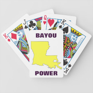 BAYOU POWER BICYCLE PLAYING CARDS