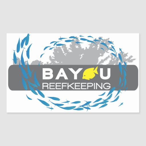 Bayou Reefkeeping Sticker