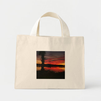 bayou reflections mini tote bag