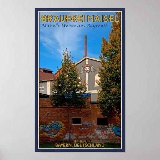 Bayreuth - Maisel Brauerei Poster