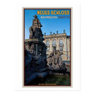 Bayreuth - Neues Schloss Postcard