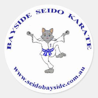 Bayside Cat in Seido Gi Sticker