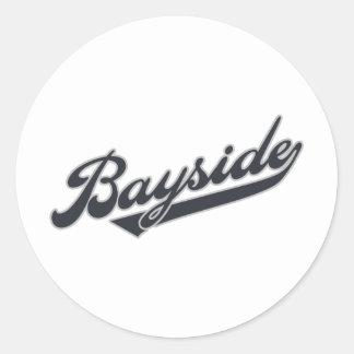 Bayside Classic Round Sticker