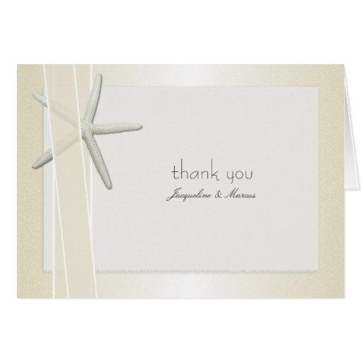 bayside folded custom wedding thank you cards zazzle
