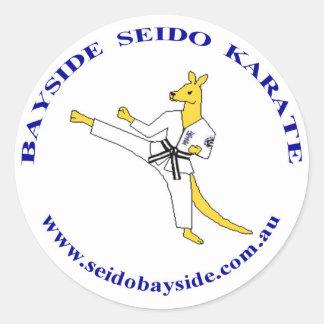 Bayside Kangaroo in Seido Gi Sticker